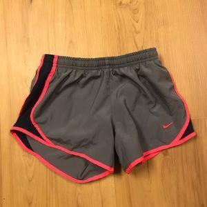 Girls Nike Running Shorts Size Small